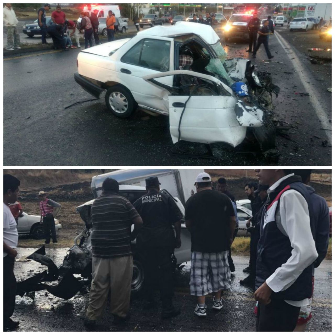 Dos muertos y 17 lesionados dejan dos accidentes carreteros
