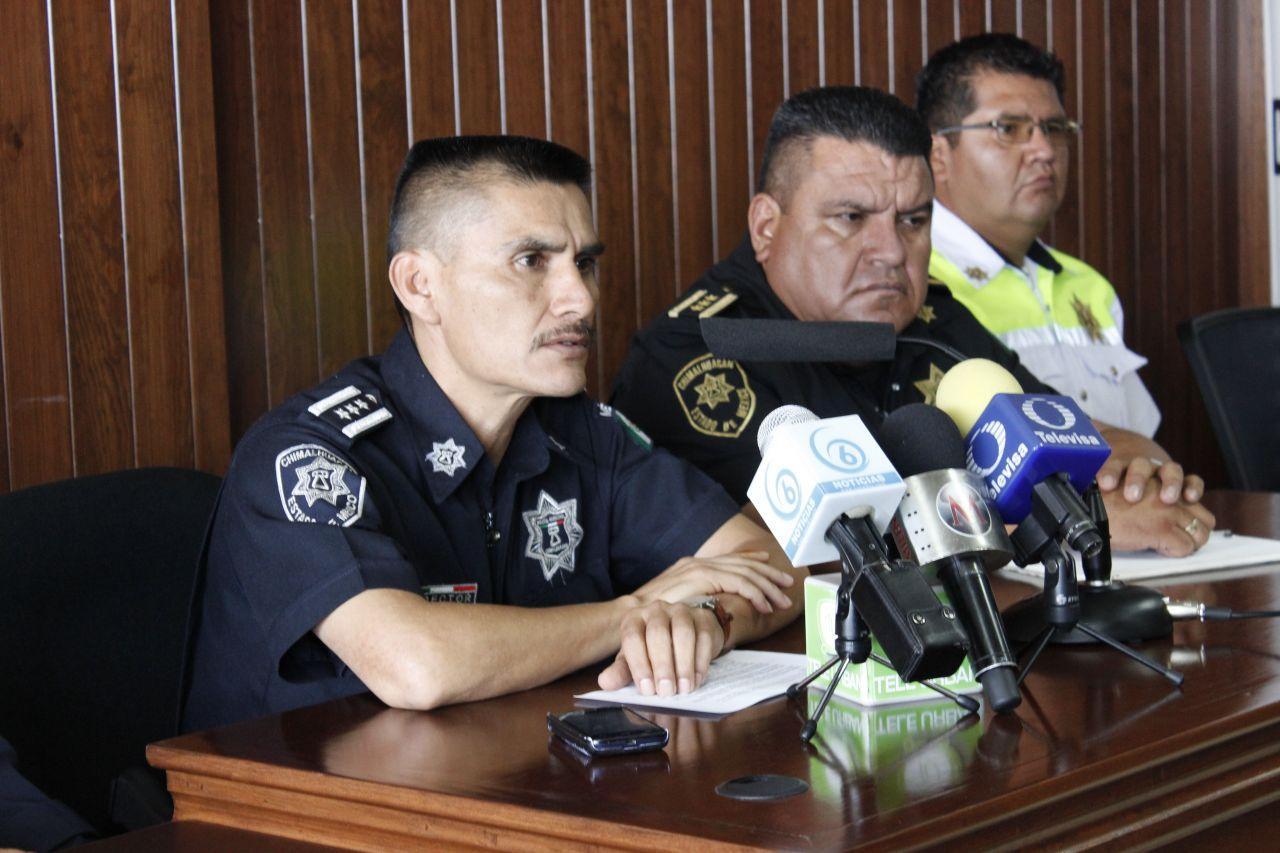 Policía de Chimalhuacán informa de la agresión a vecino del barrio San Pablo