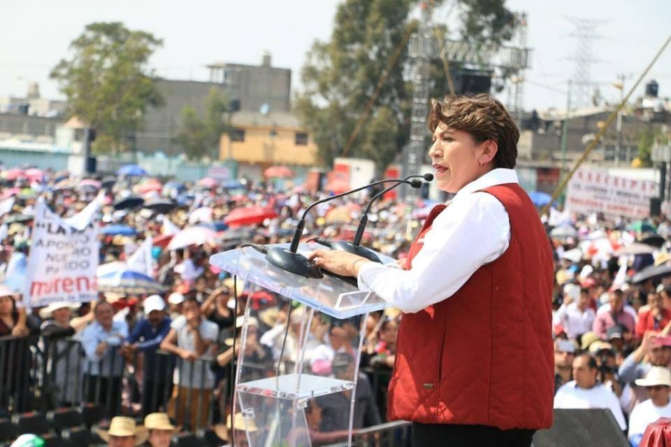 Monto de 285 mdp para campaña es una falta de respeto para los mexiquenses: Delfina Gómez