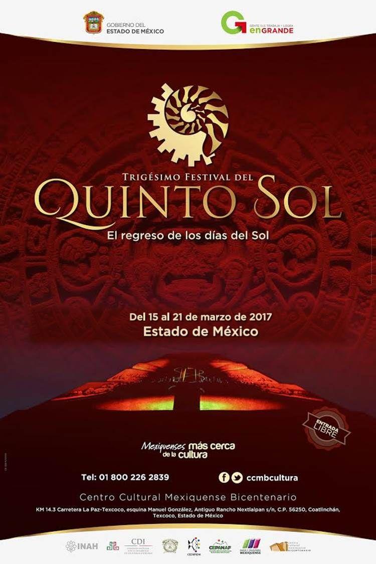 Exaltan tradiciones y raíces prehispánicas con Festival del Quinto Sol en el CCMB, Texcoco