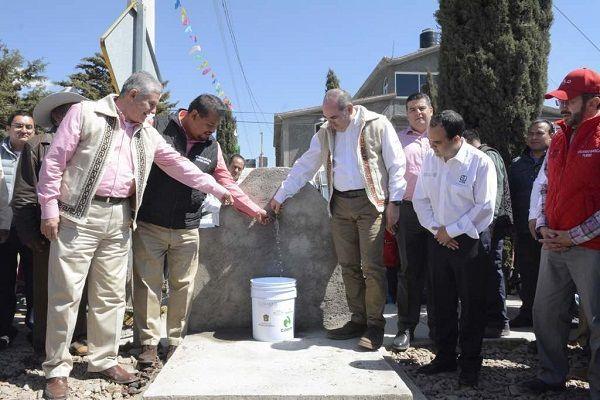 Entrega Conagua obras hidráulicas para mejorar abasto de agua a la población e incrementar su reúso en Tlalnepantla