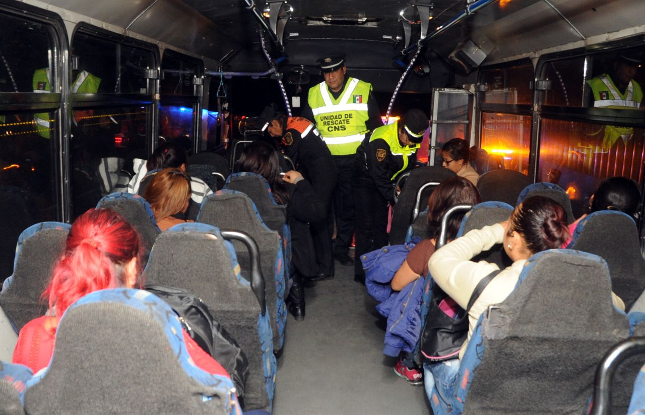 Realiza CES y  Policía Federal operativo coordinado en límites del Edomex y   CDMX