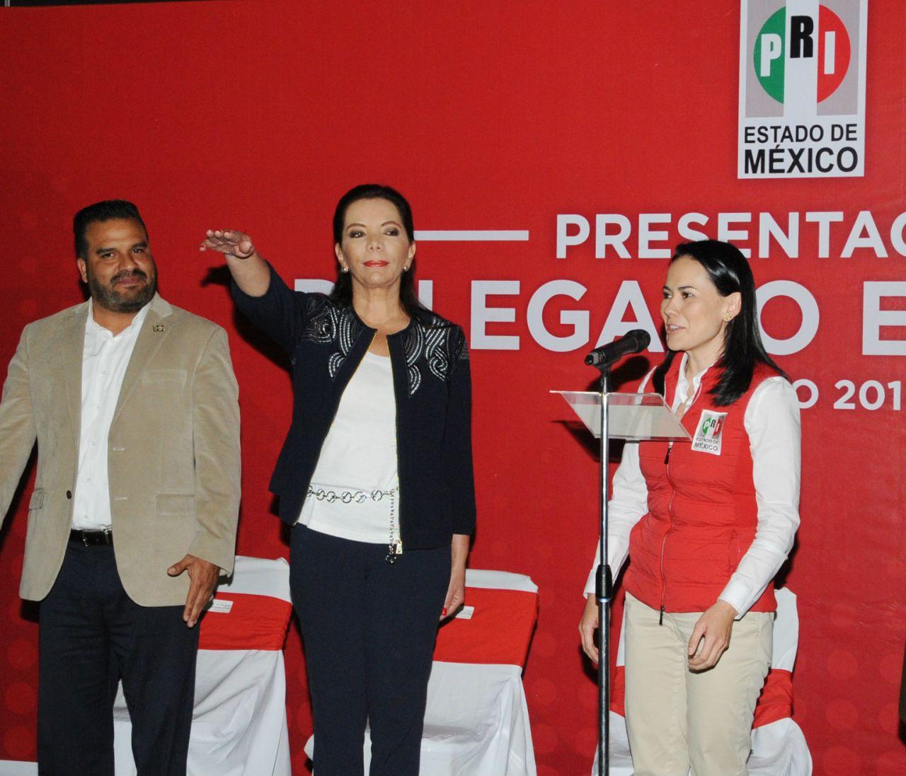 El PRI, en unidad, con responsabilidad y convicción, listo para proceso electoral: Alejandra Del Moral