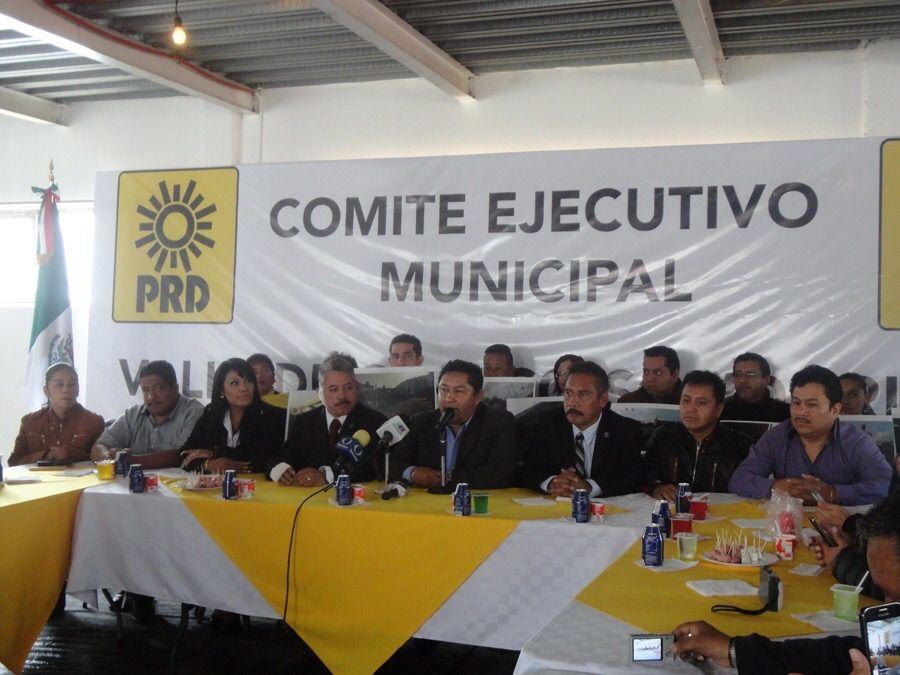 Valle de Chalco, es el único municipio de la  entidad que realiza su elección interna