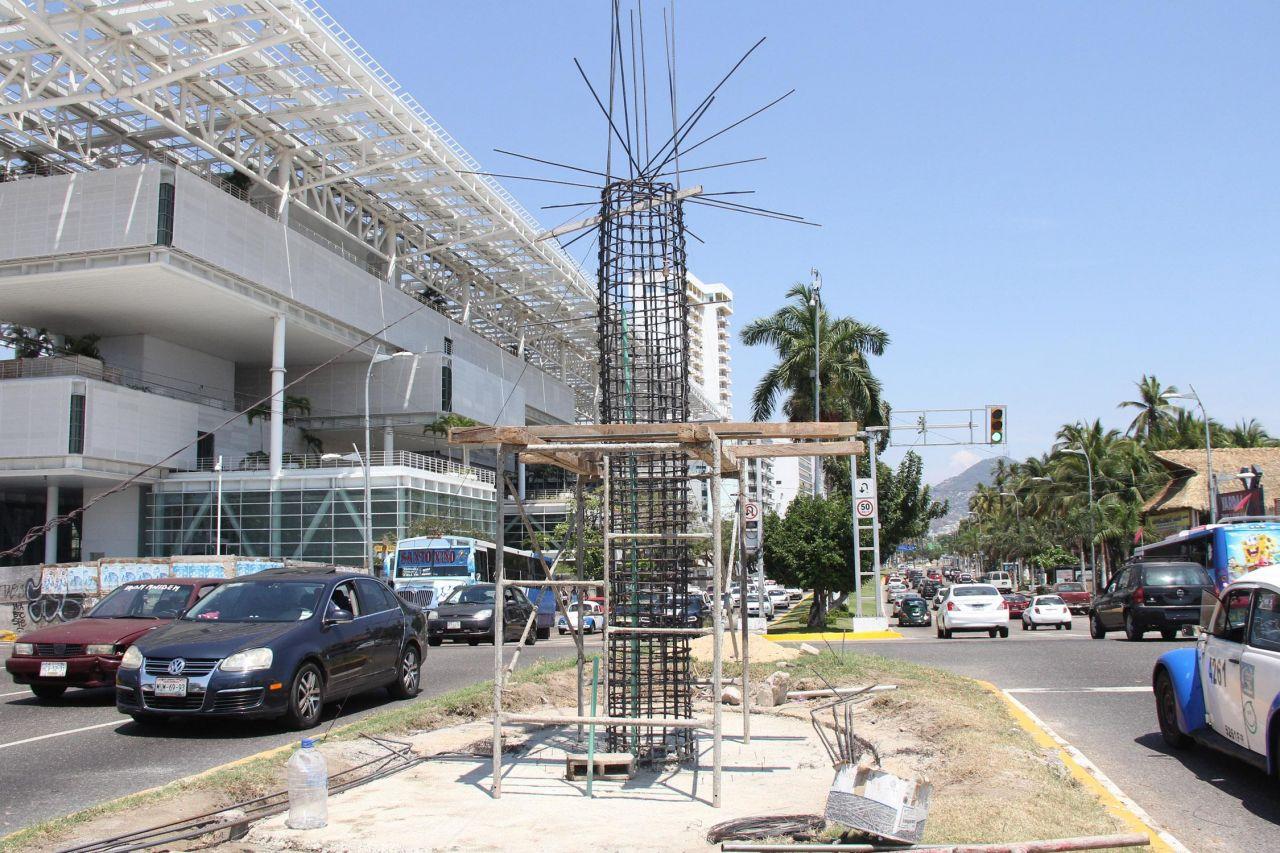 Más obra social para Acapulco,  antes del Tianguis Turístico