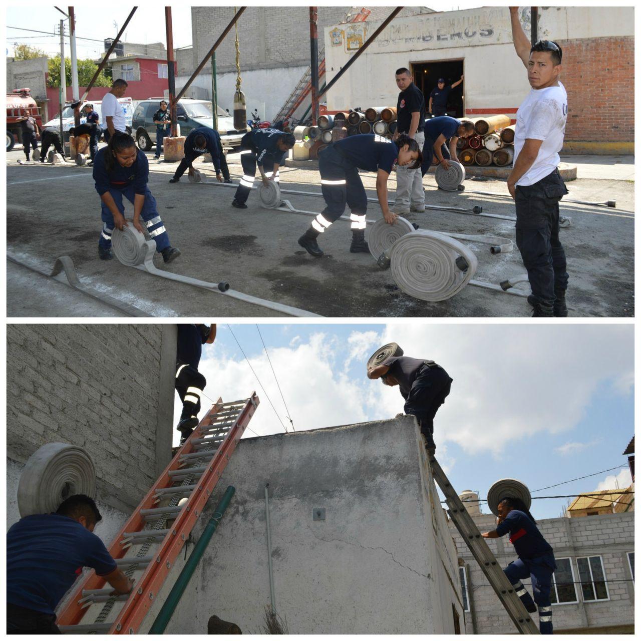 Profesionalizan Rescate Municipal y Protección Civil en Chimalhuacán Edomex