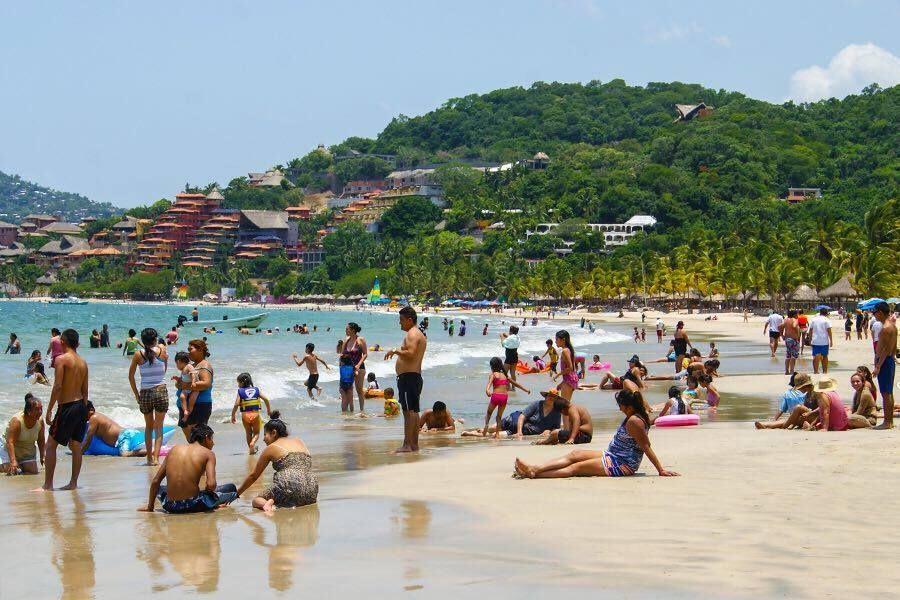 Reportan buena afluencia de turistas en Guerrero