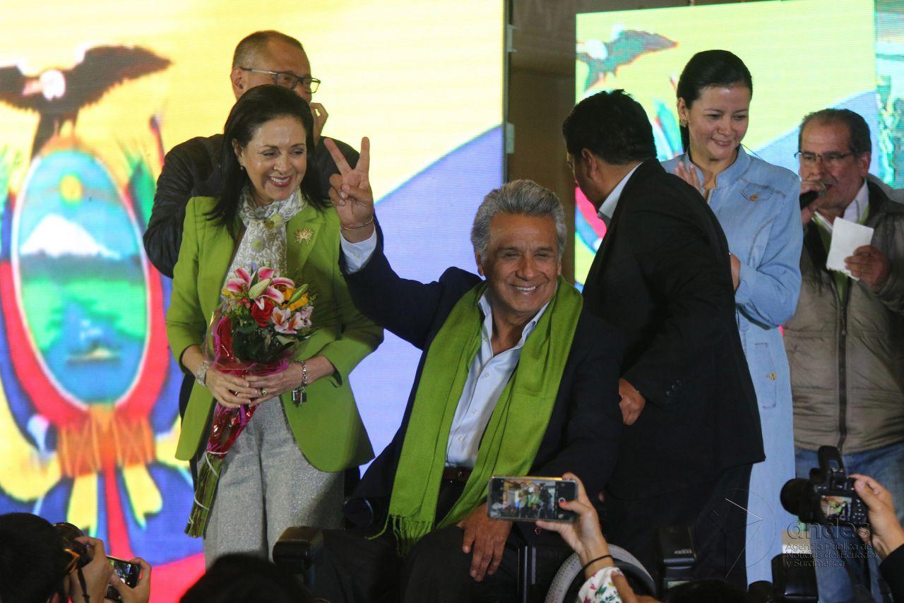 Lenín Moreno sería el nuevo presidente de Ecuador