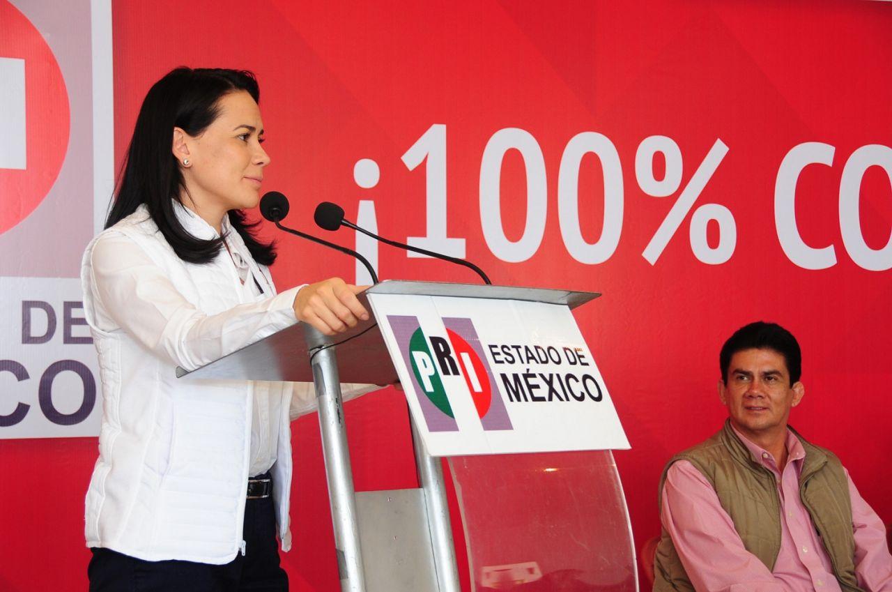 La legalidad y las propuestas, son las grandes herramientas del PRI para salir al encuentro con la gente en campaña: Alejandra Del Moral