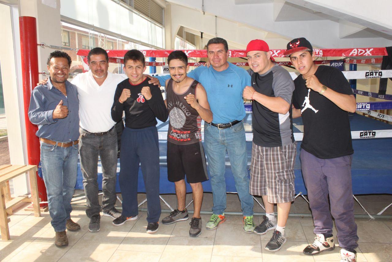 Rodrigo el Gato Guerrero dedica su pelea  a  toda la gente que lo apoya en Texcoco y a México entero.