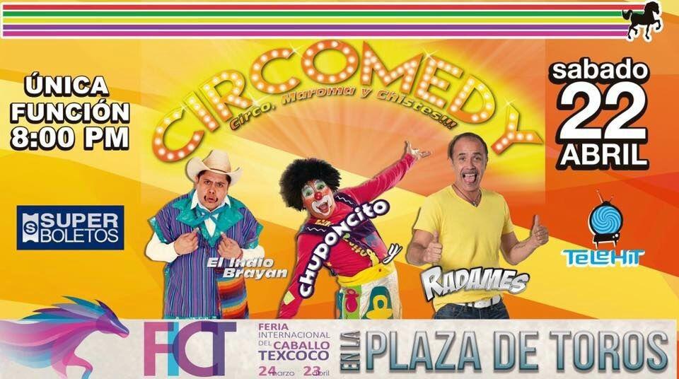 Chuponcito llega a la FICT acompañado de Radamés y el Indio Brayan