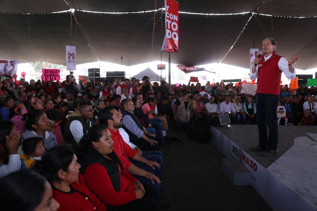 Instalará Del Mazo más de un millón de luminarias para la seguridad de los mexiquenses