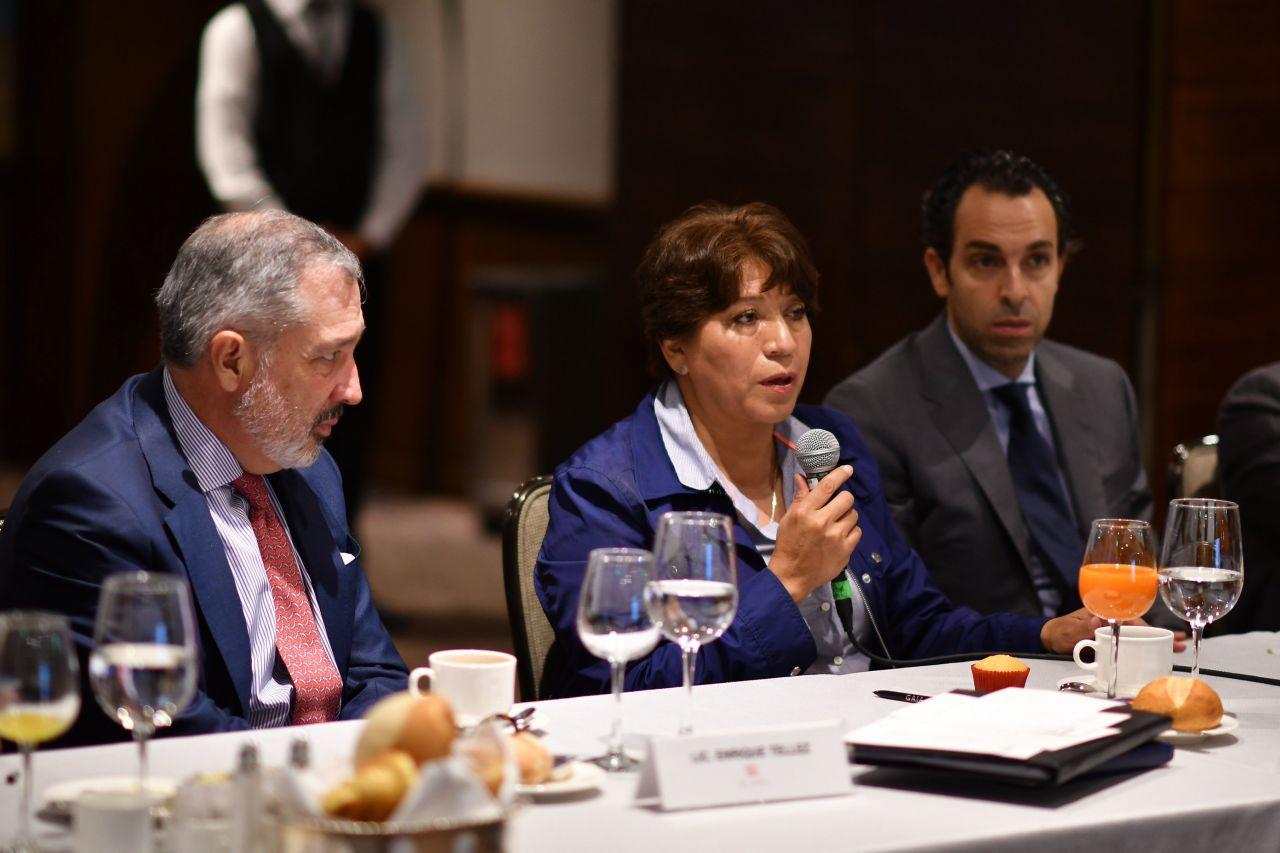 Advierte Delfina Gómez a inmobiliarios promover desarrollos sutentables en Edomex