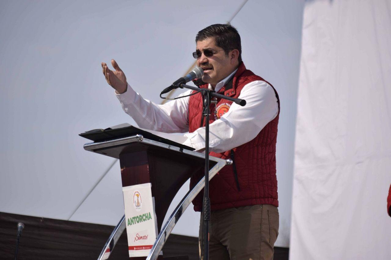 Antorcha planteó a candidato pliego petitorio a favor del pueblo