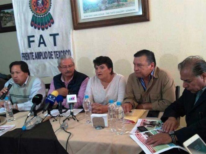 Pide el FAT renuncia de Higinio Martínez y Delfina Gómez