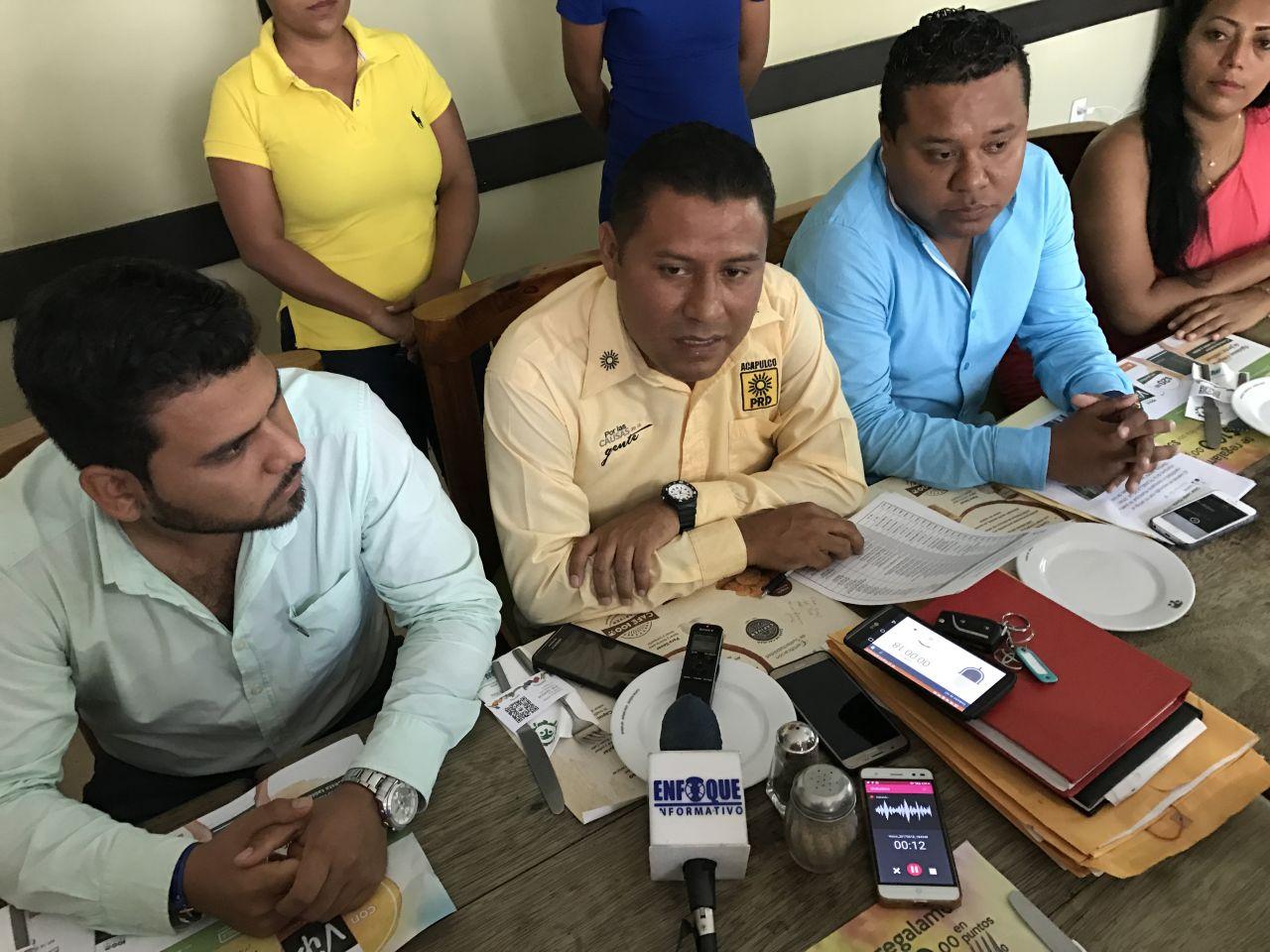 Suma el PRD más comisarías ganadas en Acapulco: Dirigencia municipal