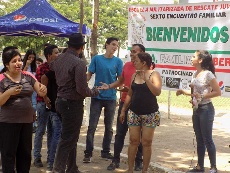 LA AGRUPACIÓN RESCATE JUVENIL, A.C.  Realizo el VI Encuentro Familiar.