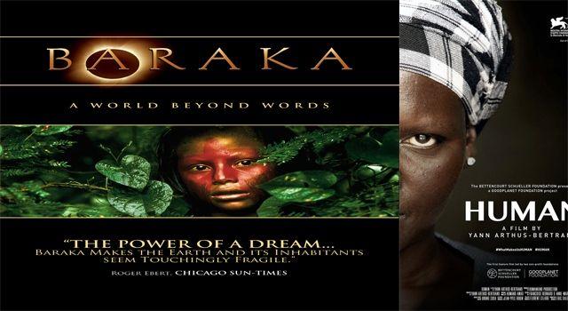En la Sala Lumiére, este viernes  se exhiben Human y Baraka