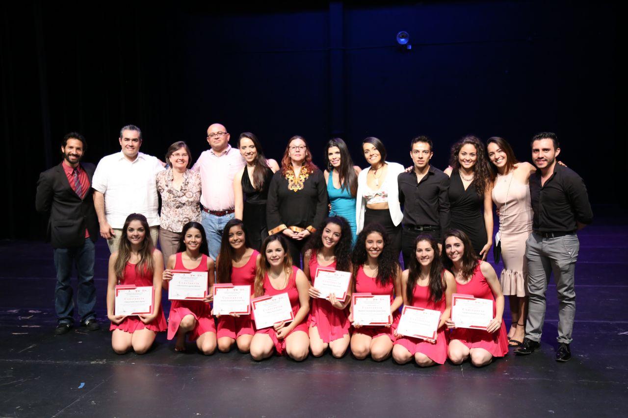 Egresa la VI Generación de la Escuela Superior de Danza del ISIC