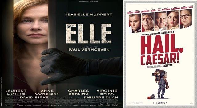 Este miércoles, los filmes Elle y Hail, Caesar!, en la Sala Lumiére