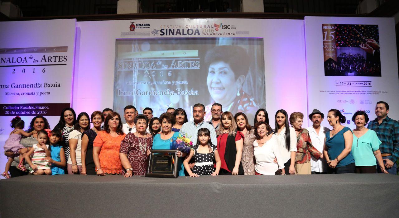 Convoca ISIC a presentar propuestas para el Premio Sinaloa de las Artes 2017
