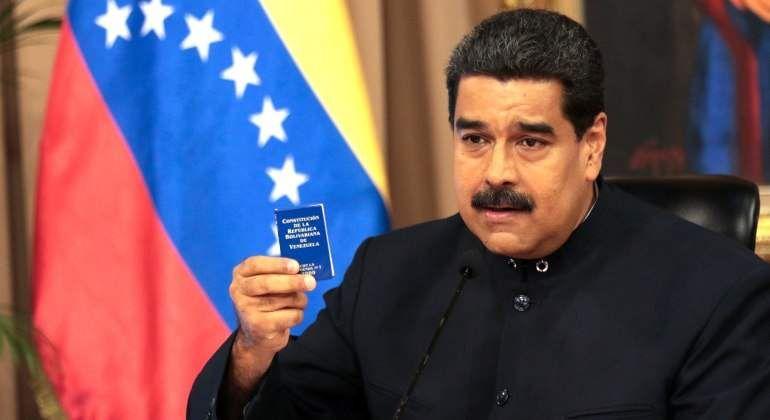 """Maduro asegura que Venezuela está en medio de """"una crisis revolucionaria"""""""
