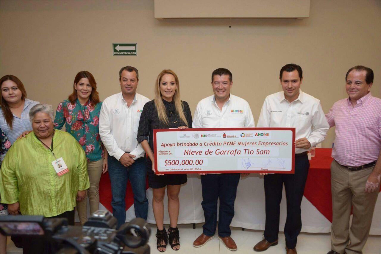 Sinaloa segundo lugar nacional de Crédito Joven: Rodríguez Castaños