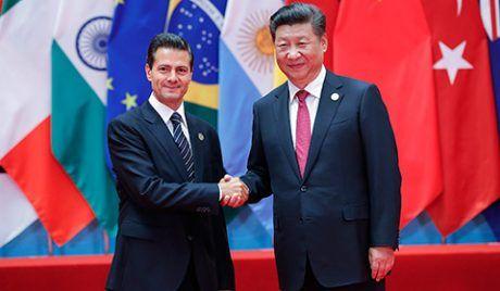 Peña Nieto informa al Congreso que viajará a China