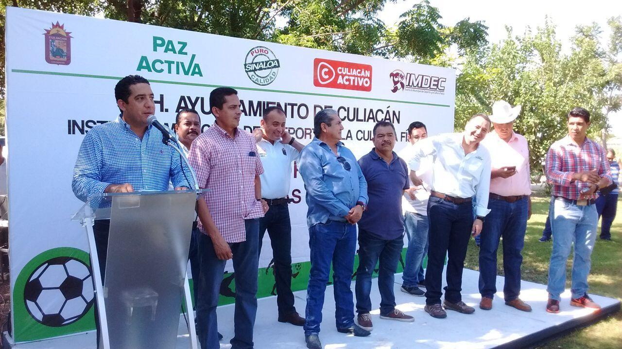inauguran el Primer Torneo Intersindicaturas de Futbol y Softbol Culiacán Activo 2017