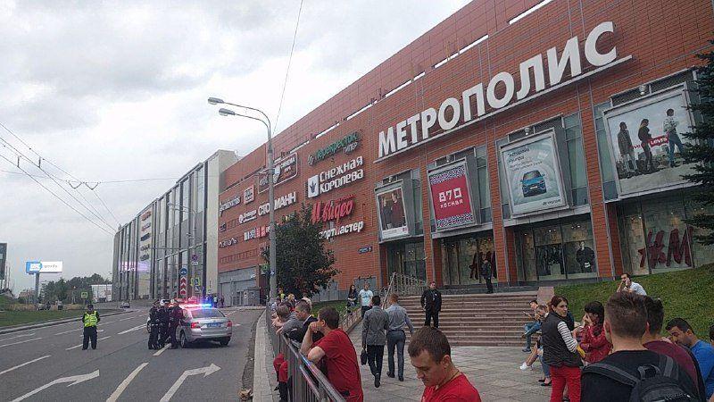 En Moscú más de 10,000 personas fueron evacuadas por amenaza de bomba