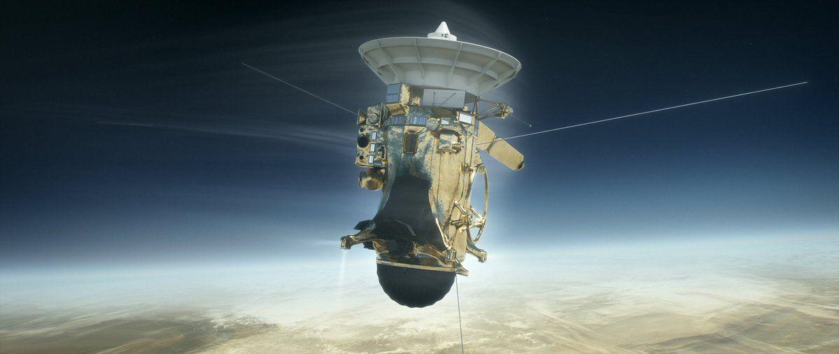La sonda Cassini terminó su última misión