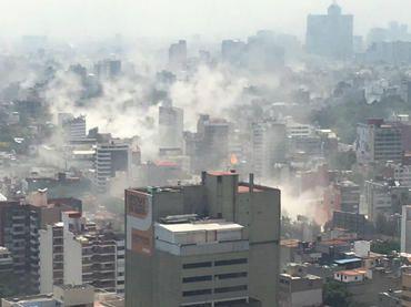 Gobernador del EDOMEX señalo que hay  seis niños lesionados y tres personas muertas tras el sismo de hoy.