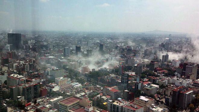 Nuevo sismo en México de 7.1º: Se reportan 120 muertos hasta el momento