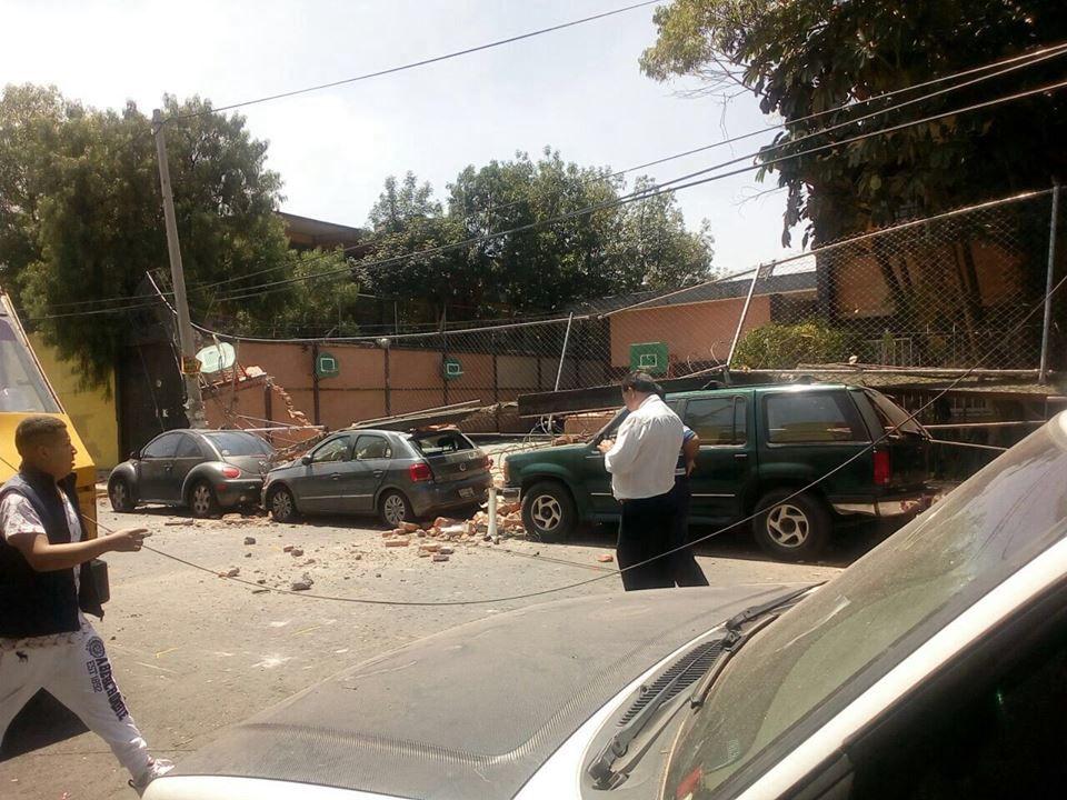 Un sismo Sacude varias partes de México