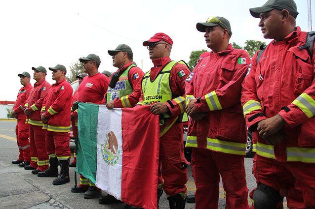 Envía Jalisco rescatistas a la CDMX