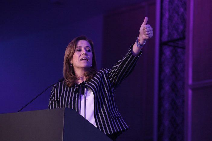 Margarita Zavala insiste en ser la candidata del PAN, en 2018.