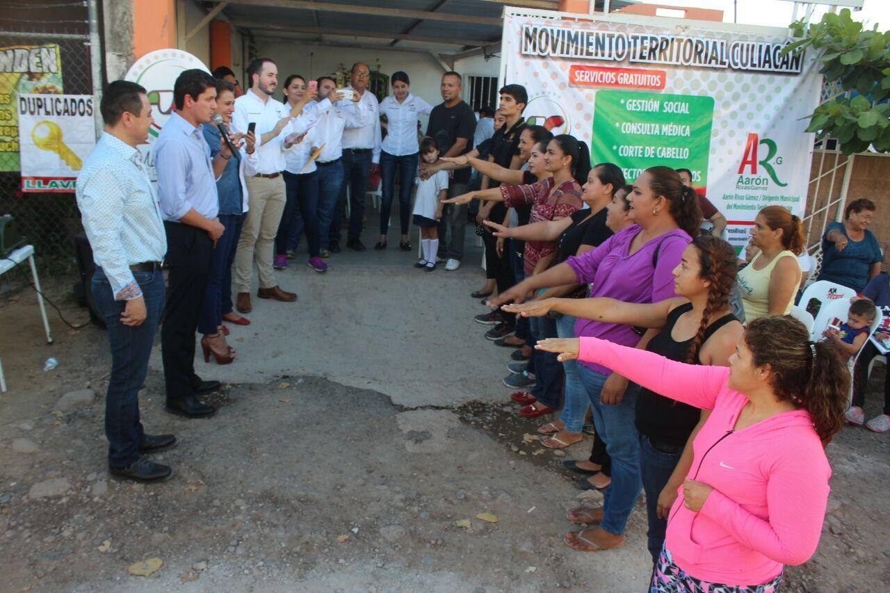 servicios médicos en la Colonia Campesina El Barrio: PRI