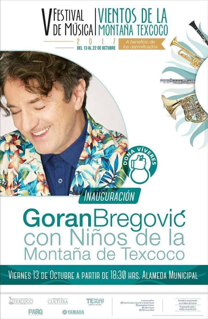 Niños de la montaña y Goran Bregović darán inicio al Festival de música Vientos de la Montaña en Texcoco
