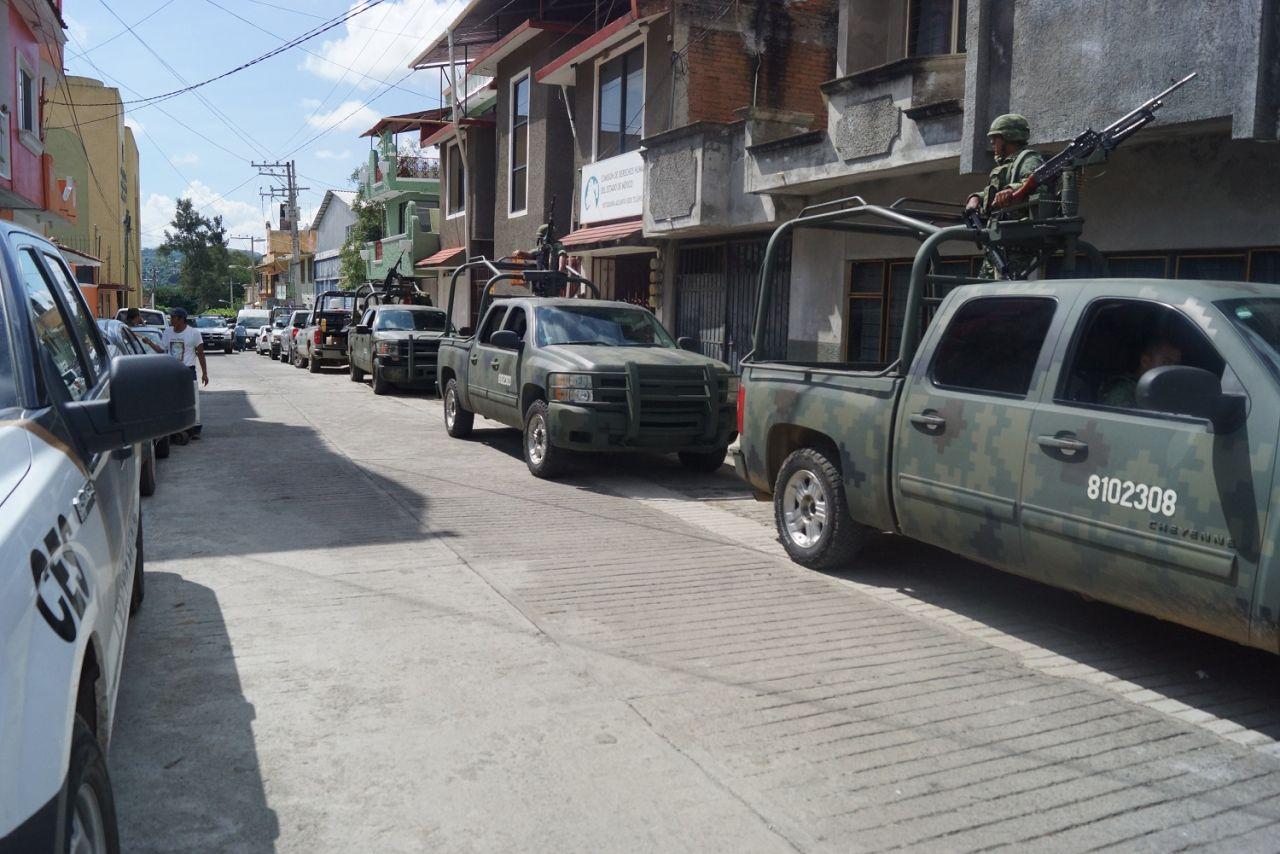 Alistan operativos Fuerzas Estatales y Federales en el sur del Estado de México
