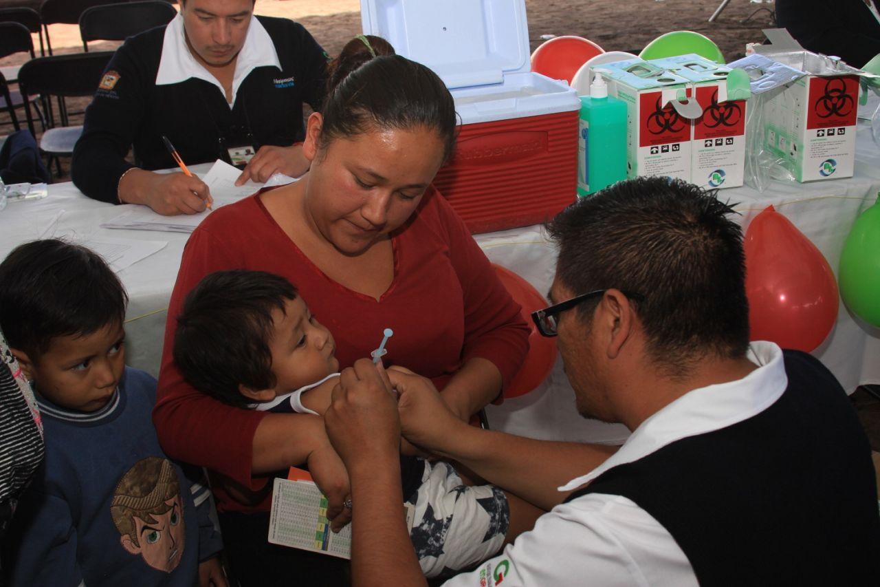 Inicia Tercera Semana Nacional de Salud en Chimalhuacán