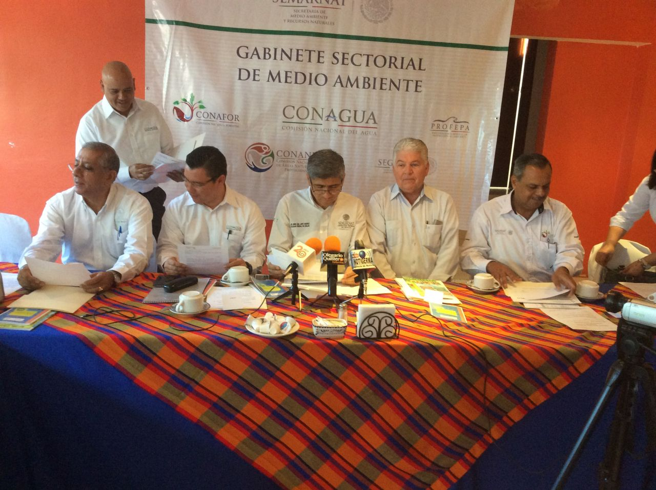 Reunión del Gabinete Sectorial de Medio Ambiente.