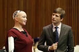 Sophia la humanoide que recientemente le otorgaran la ciudadanía dará conferencia magistral en Jalisco, México.