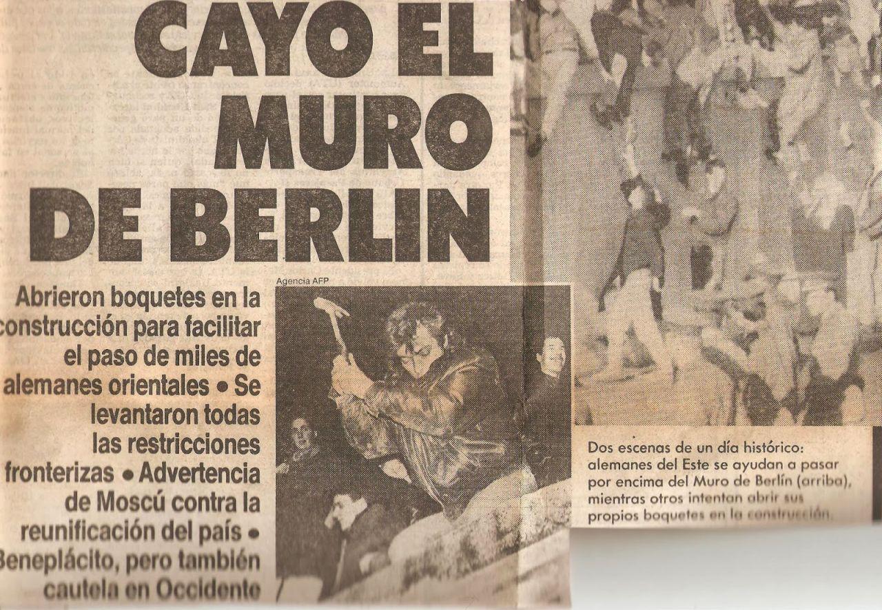 Berlin  conmemora 28 años de la caída del muro de la vergüenza.