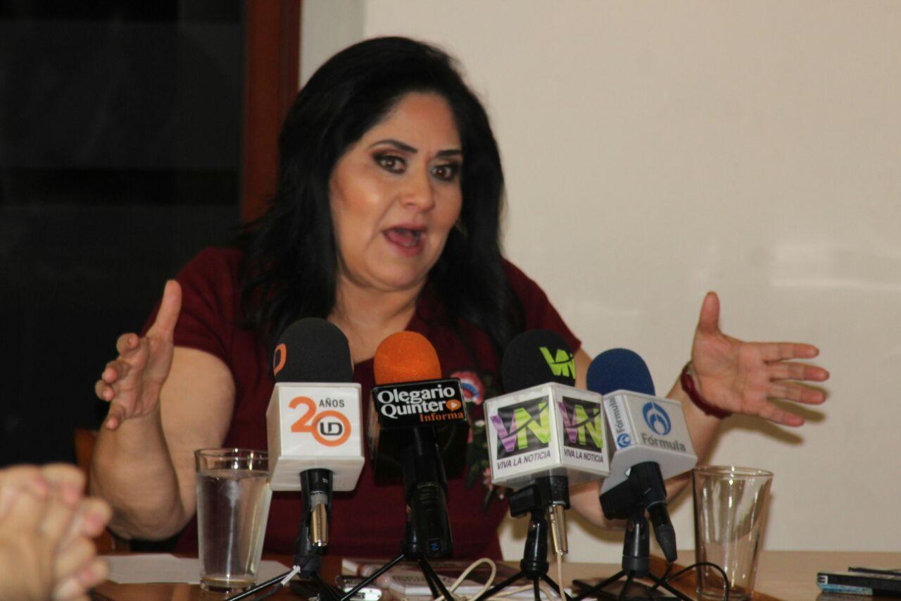Diva Gastélum en rueda de prensa: 5to. Informe