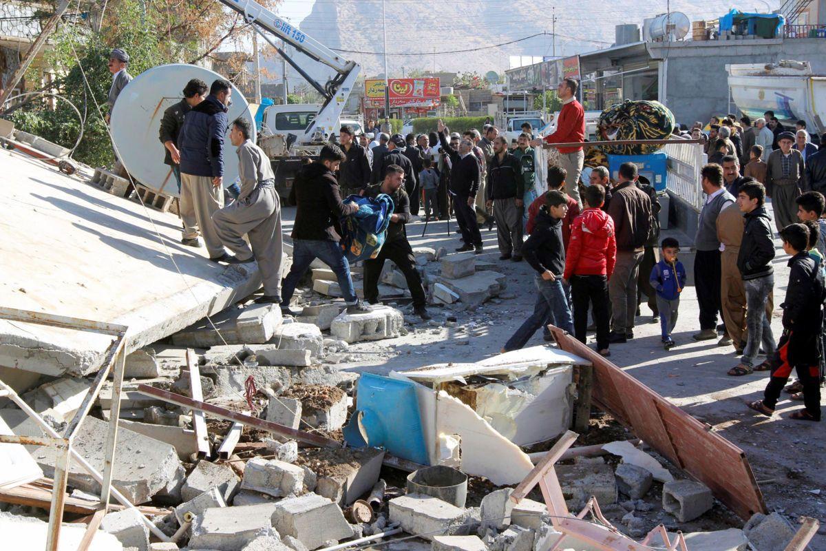 Terremoto en Irak e Irán deja más de 400 muertos