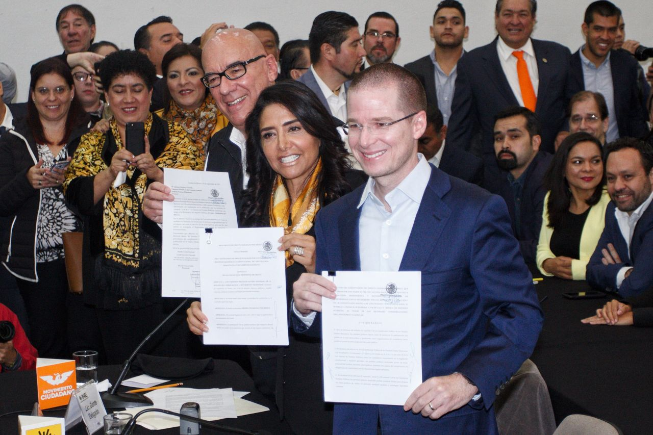 Registran Frente Ciudadano en CDMX.