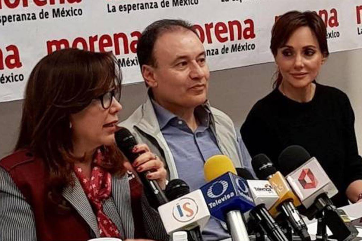 Nombran a Lilly Tellez como coordinadora de Morena en Sonora