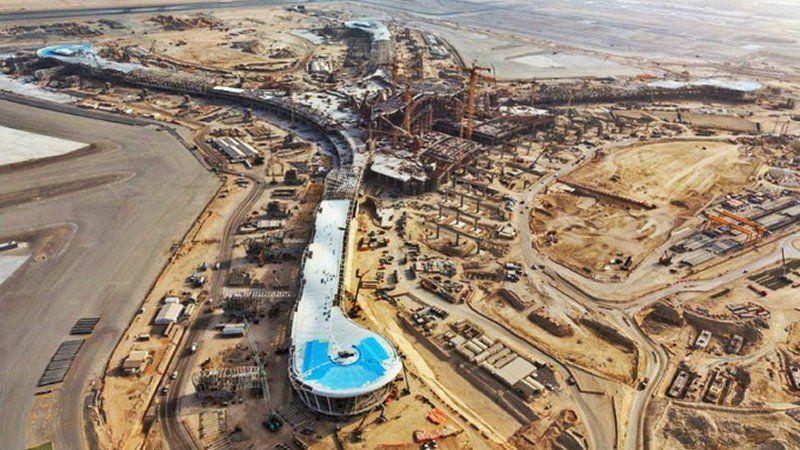 Detecta ASF muro millonario en construcción del NAICM
