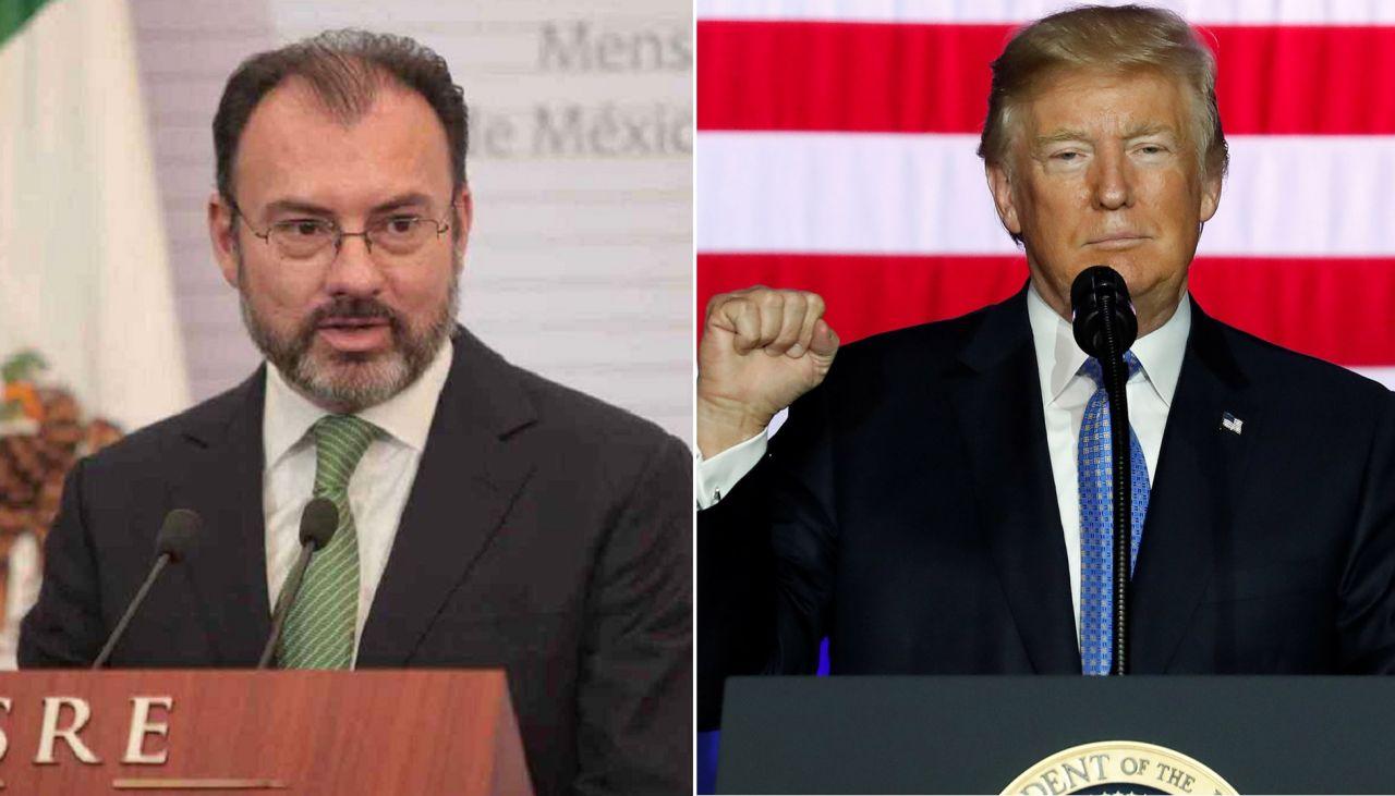 Responde Videgaray a Trump por aranceles