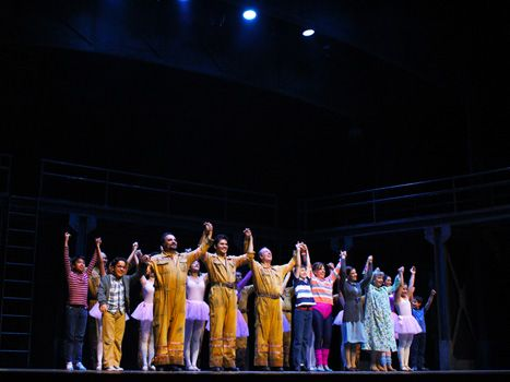 Billy Elliot el musical en Teatro Ingenio